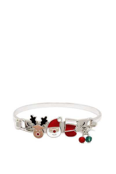 CHRISTMAS RUDOLPH AND MORE CHARM BRACELET