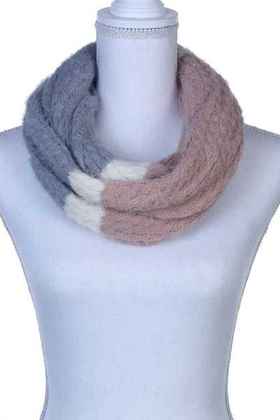 MULTI COLORED KNITTED SCARF