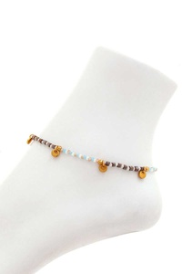 CHIC FASHION BEADED ANKLET