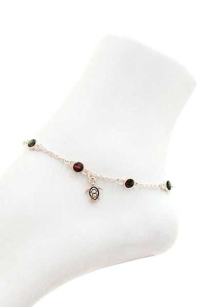 FASHION TRENDY TURTLE DANGLE ANKLET
