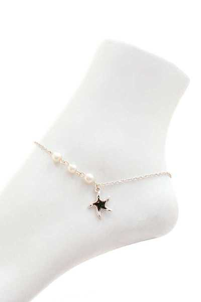 CHIC FASHION STAR FISH PENDANT ANKLET