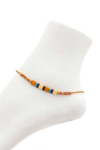 MODERN FASHION BEADED ANKLET