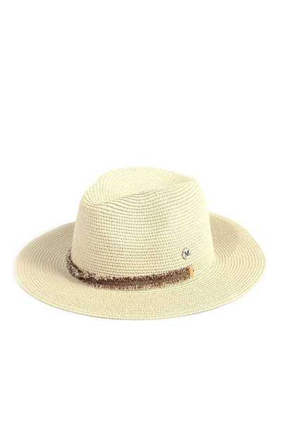 FRAY BAND PANAMA HAT
