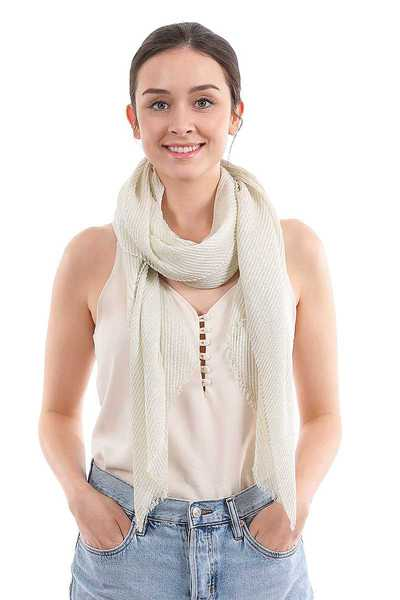 FASHION SILKY SOLID COLOR SCARF