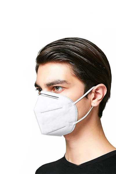 KN95 DISPOSABLE RESPIRATOR FACE 3D MASK