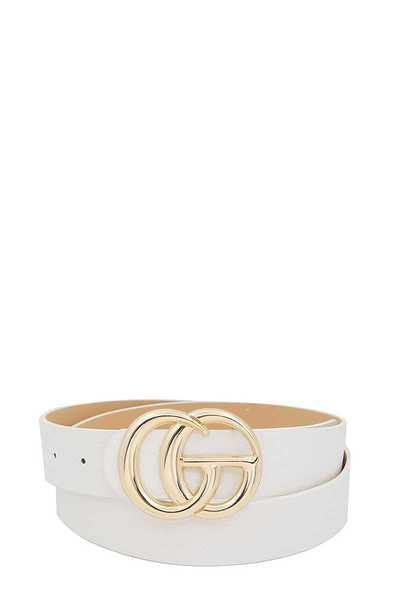 STYLISH LETTER BUCKLE BELT STYLISH LETTER BUCKLE BELT