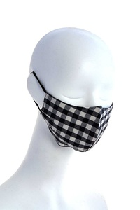 Reusable Filter Changeable Fabric Mask - Check 1