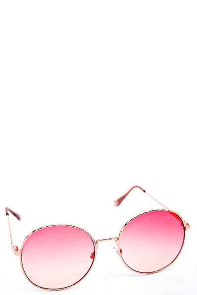 CUTE COLOR TINT CHIC SUNGLASSES 1 DOZEN