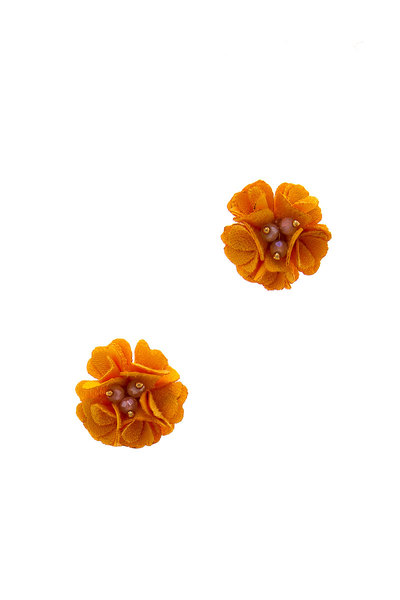CHIC CUTE FASHION FLOWER STUD EARRING