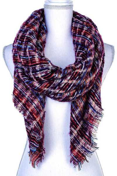 MODERN FASHION CHECK SCARF
