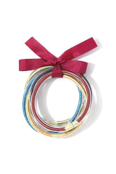 MULTI COLOR GLITTER BRACELET