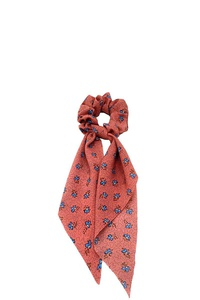 MINI CUTE FLORAL DOTTED PRINT SCARF PONY