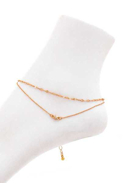 FASHION DOUBLE LAYER CHIC ANKLET