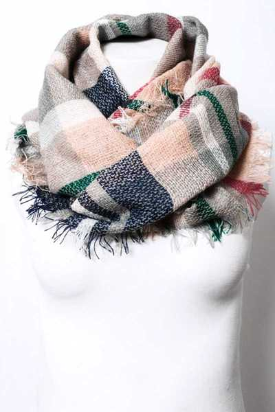 KIDS FLANNEL INFINITY SCARF