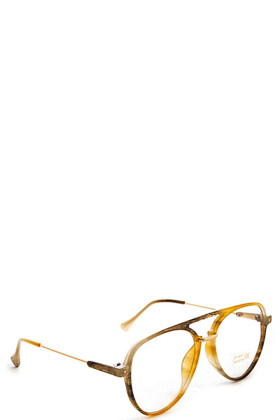 Chic Trendy Clear Glasses