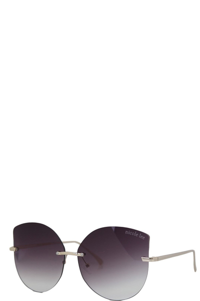NICOLE LEE CATHERINE CAT EYE SUNGLASSES
