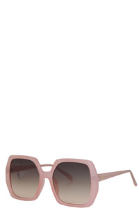 NICOLE LEE HAVEN SQUARE SUNGLASSES