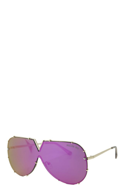 NICOLE LEE JULLIETTE OVERSIZED SUNGLASSES