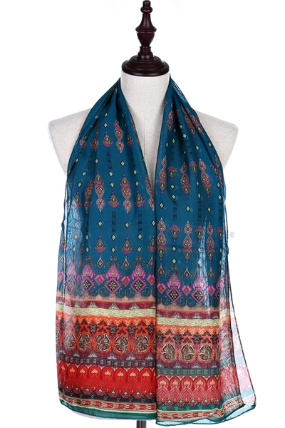 Fashionable Print Oblong Scarf