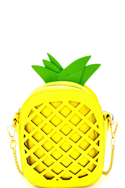 Pineapple Figure 2 in 1 Novelty Cross Body