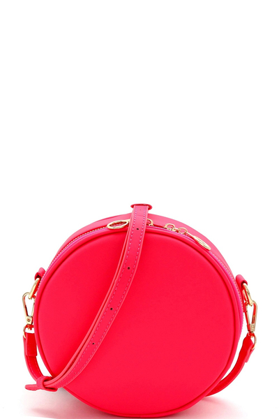 Circle Round Cross Body Shoulder Bag