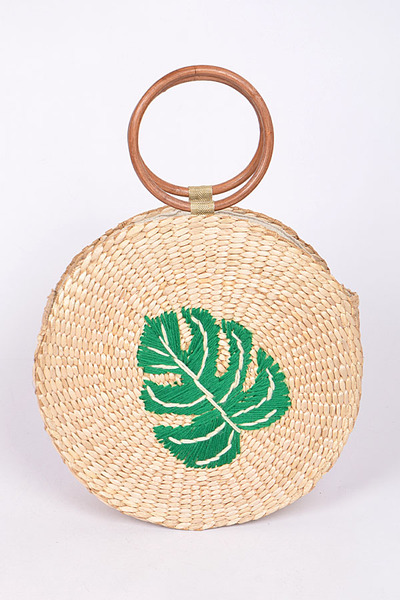 Twined Leaf Bag
