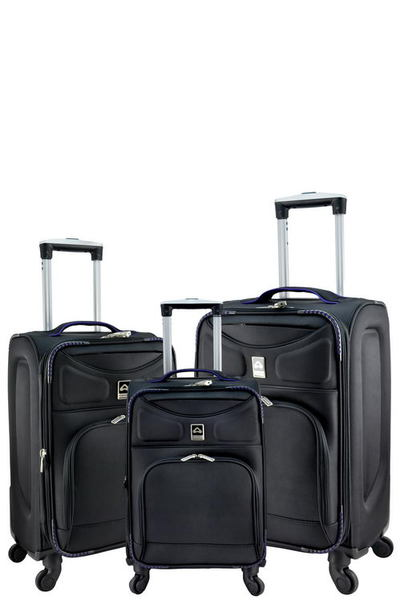DESIGNER 3-PIECE SPINNER LUGGAGE SET