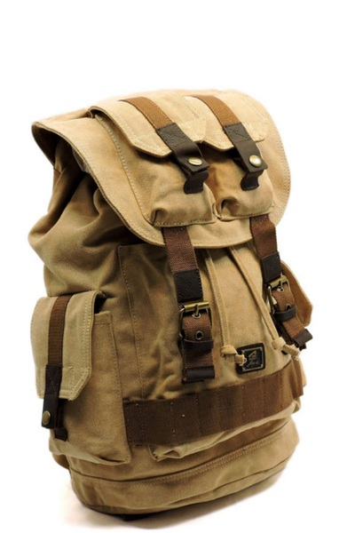 DESIGNER CANVAS BACKPACK