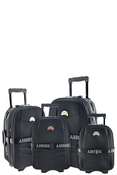 DESIGNER 4-PIECE LUGGAGE SET