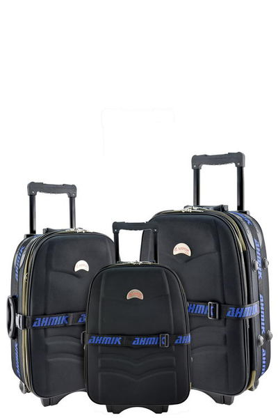 DESIGNER 3-PIECE LUGGAGE SET