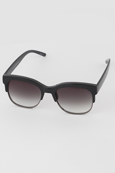 Half N Half Retro Sunglasses