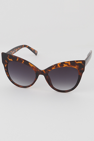 Simple Cat Eye Sunglasses