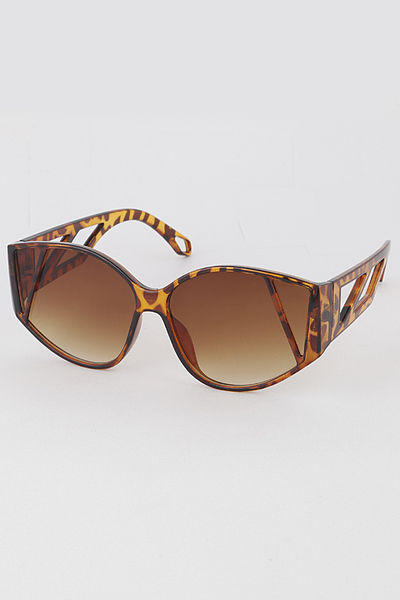 Mixed Color Marble Print Sunglasses