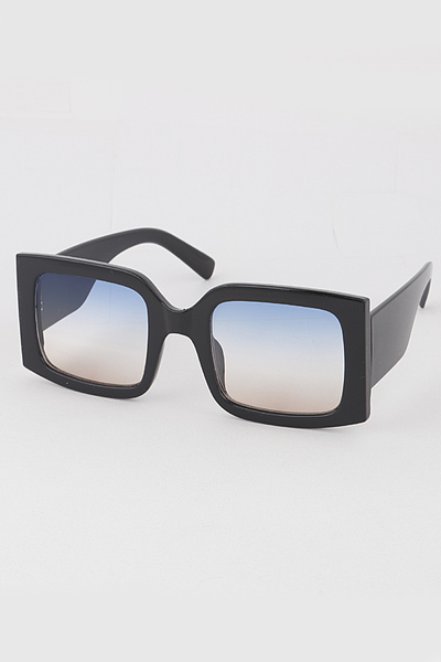 Unique Frame Square Sunglasses