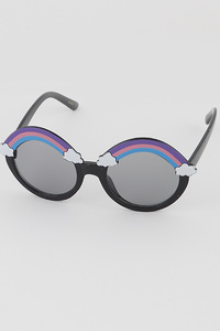 KIDS Rainbow Round Sunglasses