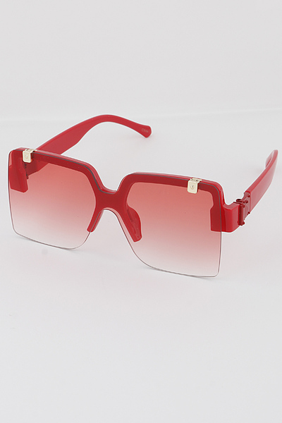 Hidden Frame Square Sunglasses