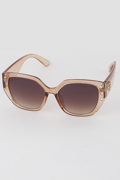 Lion Emblem Butterfly Sunglasses