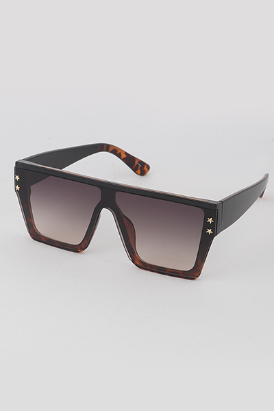 Double Star Frame Sunglasses