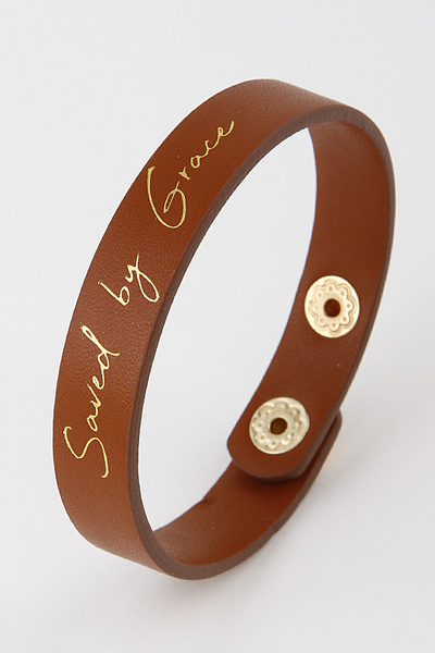 Saved By Grace Bracelet