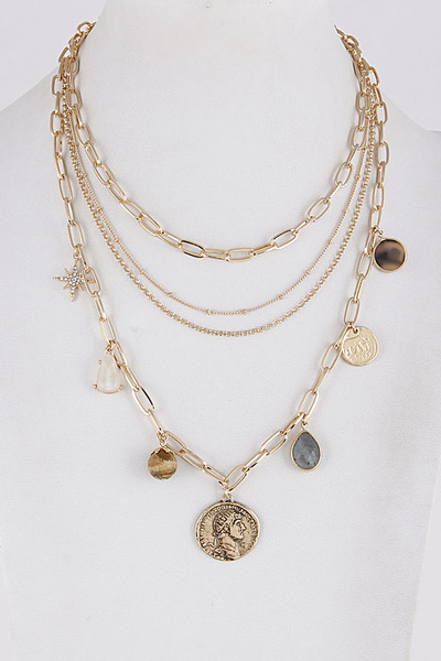 Layered Mixed Lovely Necklace