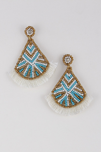 Traditional Tassel Earrings