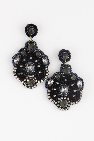 Beads Embellished Antoinette Earring