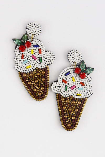 Ice Cream Lovers Earring