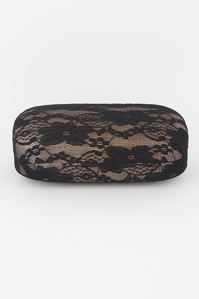 Lace Fabric Sunglasses Case