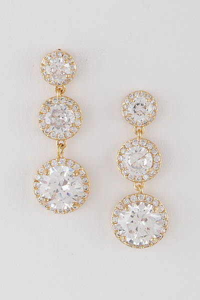 Luxury Linked Drop Earrings