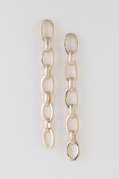 Simple Long Chain Earrings
