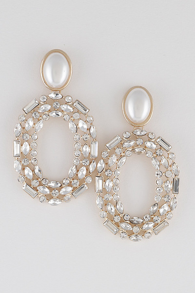 Luxury Stones Drop Earrings