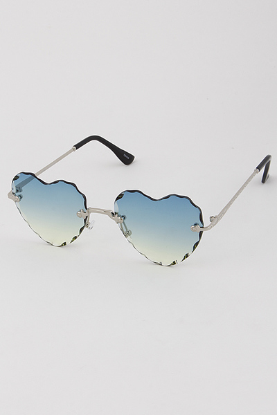 Unorthodox Heart Cut Sunglasses