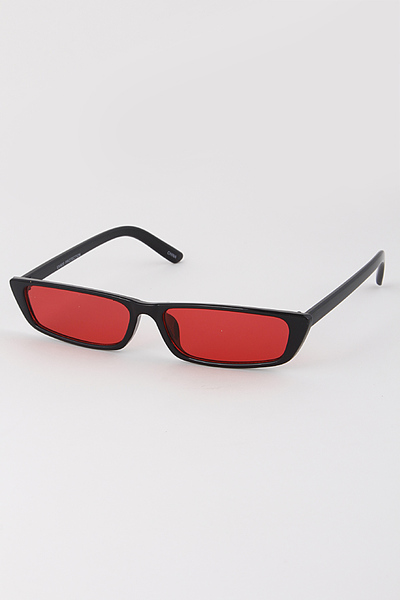 Rectangular Tinted Sunglasses For You