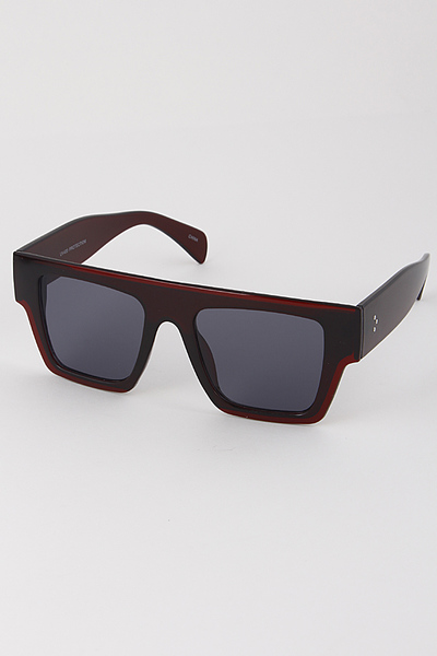 Thick Framed Sunglasses
